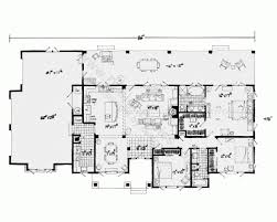 floor plans for homes one story fascinating one story house plans with open floor plans design