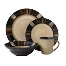 dining room pfaltzgraff tahoe 16 piece dinnerware set for lovely