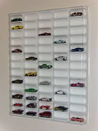 diecast toy vehicle display cases stands ebay hot wheels display case white w clear dust cover for 65 loose