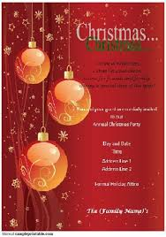 christmas party invitation template party invitation template free gangcraft within