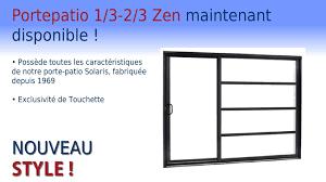 Porte Patio Portes Et Fenêtres Touchette Portes Patio Solaris Crédit Impôt