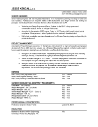 Best Resume Format For Engineers Pdf by Sample Resume For Professional Engineer Resume For Your Job