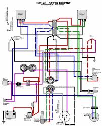 wiring diagram yamaha outboard motor wiring schematics 69 70 v4