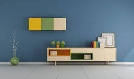 Modern Blue Living Room by Modern Green And Blue Living Room Royalty Free Stock Image Image