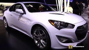 genesis hyundai coupe 2015 2015 hyundai genesis coupe 3 8l gt exterior and interior