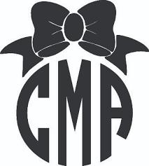 bow monogram bow monogram wall vinyl