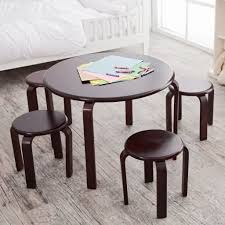 charming kids round wooden table and chairs 92 for best ikea