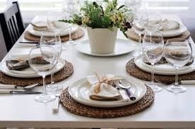 kitchen table setting ideas kitchen table setting indelink com