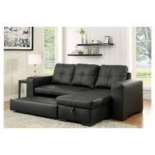 Pull Out Sleeper Sofa Mibasics Felton Modern Style Pullout Sleeper Sofa Target