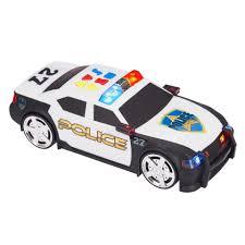 minecraft police car fast lane light u0026 sound police car toys