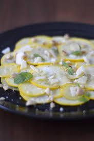 cuisiner la courgette jaune simple comme un carpaccio de courgettes jaunes