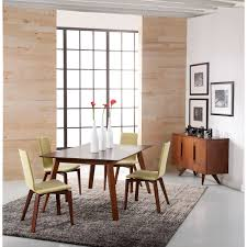 spectra rectangular extension maple dining table