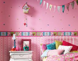 Modern Kids Room by Bedroom Colorful Kids Room Design With Prairie Mural Wallpaper