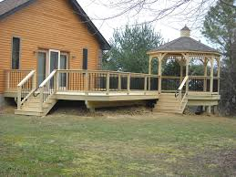 trex deck with screened gazebo create your space pinterest