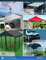 Costco Sunsetter Awning Costco Online Catalogue March U0026 April