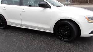 volkswagen jetta 2017 black 2013 volkswagen jetta with 18 inch custom black rims youtube