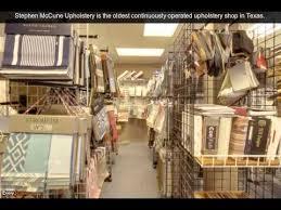 Upholstery Warehouse Stephen Mccune Upholstery San Antonio Tx Upholstery Youtube