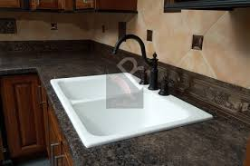 white sink black countertop unique 80 white kitchen sink inspiration design of best 25 kitchen