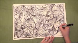 zen of design patterns line illusions speed drawing original video pursuit curves zen