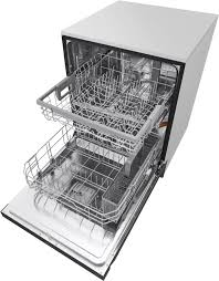 Aj Madison Dishwashers Lg Ldf5545 24 Inch Full Console Quadwash Dishwasher With Dual