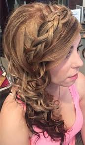 prom hairstyles side curls 45 side hairstyles for prom to please any taste side curly
