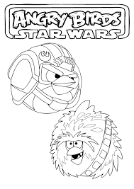 kids coloring pages angry birds star wars coloring pages
