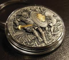 ares greek god of war 2 oz pf ultra high relief silver coin