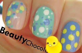3in1 3 easy nail art designs simple and quick easter themed