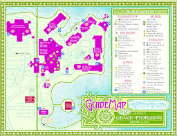 Walt Disney World Resorts Map by Disney Polynesian Resort Map 2015