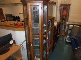 curio cabinet with light curio cabinet with light the jackpot new used furniture