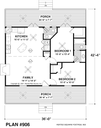 Small Floor Plans Cottages Small House Plan Approx 970 Sq Ft 2br 1 5ba House Plans
