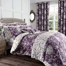 Dunelm Mill Duvets Plum Adriana Sateen Bed Linen Collection Dunelm Bedroom Ideas