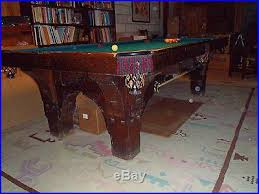 brunswick mission pool table billiards tables blog archive antique brunswick st bernard