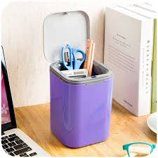 Small Desktop Trash Can Online Shop 1pcs Pressing Square Small Desktop Trash Can Hanging