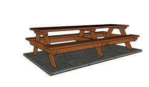 Build Your Own Picnic Table Plans by Incredible 10 Picnic Table Diy Picnic Table Building A Picnic