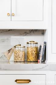 pottery kitchen canisters glass and gold kitchen canisters design ideas