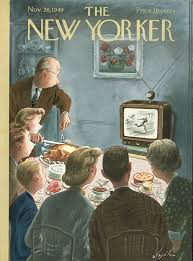 thanksgiving 1993 bruce eric kaplan u0027s u201cscreen time u201d the new yorker