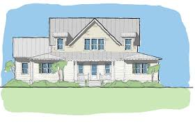 House Plans Coastal Green Ibis U2014 Flatfish Island Designs U2014 Coastal Home Plans