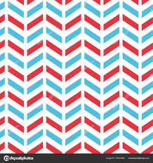 chevron pattern in blue seamless chevron pattern in blue red and white stock vector