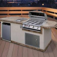 Outdoor Kitchens Kits by Back To Nature With Outdoor Kitchen Kits Amazing Home Decor