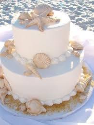 beachy wedding cakes shell and sand dollar wedding cake cakes