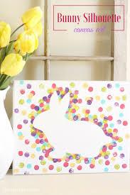 easter bunny canvas art liz on call