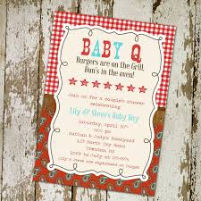 baby q invitation baby boy shower gender katiedid designs