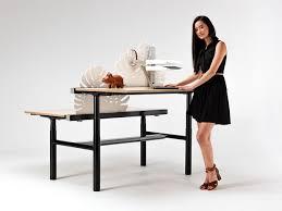 Stand Desks by Zenith Interiors Orbis 120 Degree Sit To Stand Desk Height