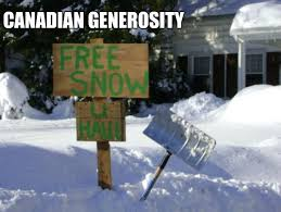 Canada Snow Meme - snow memes being canadian i can appreciate how things are a bit