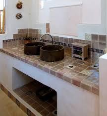 carrelage cuisine plan de travail cracdence en carreaux ciment