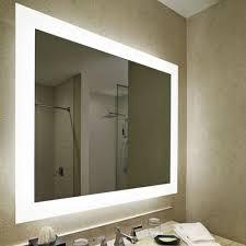 vanity mirror with led lights rectangular 3x3 inch wall mounted vanity mirror with led lighting