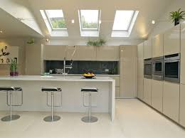 Lowes Kitchen Design Bedroom Modern Kitchen Design With White Velux Skylights And