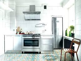 revetement mural cuisine inox cuisine en inox ikea exceptional revetement mural cuisine inox 3