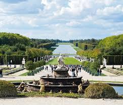 giardini di versailles jardins de ch磚teau de versailles avec la fontaine et les touristes